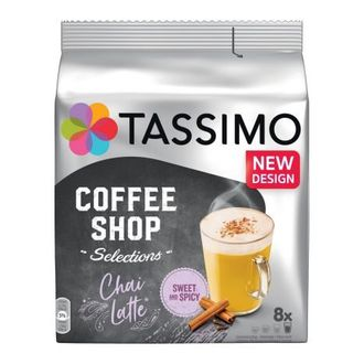 Кофе в капсулах TASSIMO COFFEE SHOP CHAI LATTE купить
