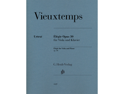 Vieuxtemps Élégie op. 30 for Viola and Piano