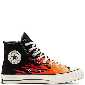 Кеды Конверс Chuck Taylor All Star Low Flame высокие мульти