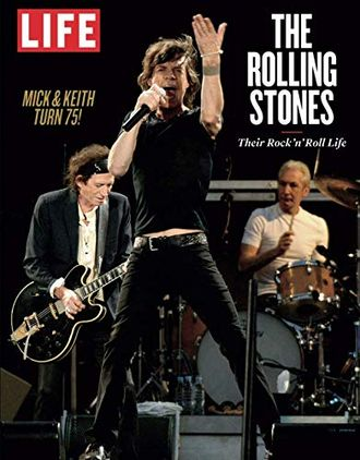 The Rolling Stones Their Rock 'n' Roll Life Book Иностранные книги о музыке, Intpressshop