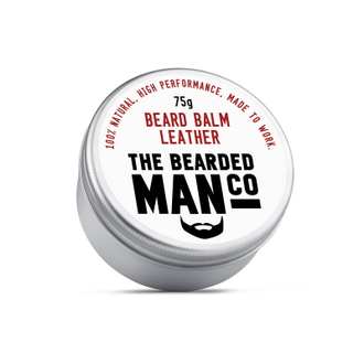 Бальзам для бороды The Bearded Man Company, Leather (Дубленая кожа), 75 гр