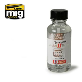 Ammo MIG: Растворитель Lacquer Thinner and Cleaner