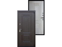 Входная Дверь ВИКИНГ без зеркала БЕЛЕНЫЙ ДУБ