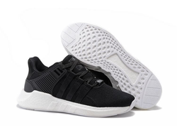 Adidas EQT Support 93-17 Black/White черно-белые