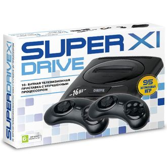 Sega Super Drive 11 (95-in-1) Black