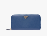 Prada Triangle Wallet Cornflower Blue