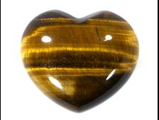 Сердце Тигровый глаз, ЮАР (44*38*24 мм, 67 г) №8801