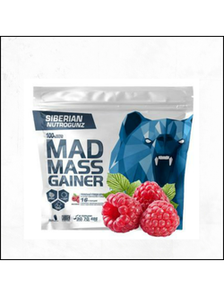 Гейнер Mad Mass Gainer Siberian Nutrogunz 2000g купить