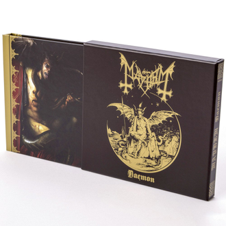 MAYHEM - DAEMON CD Mediabook