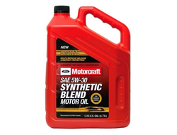 Масло моторное Ford Motorcraft Premium Synthetic Blend 5W-30 4,73л XO-5W30-5Q3SP