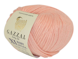 Gazzal Baby Wool XL 834 персик