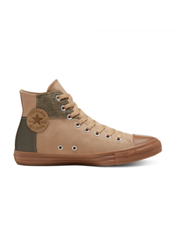 Кеды Converse Chuck Taylor All Star Menswear Blocked High Top коричневые