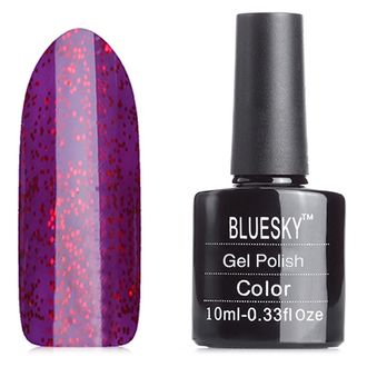 Гель-лак Shellac Bluesky №80545/40545 Ruby Ritz, 10мл.