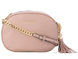 Клатч Michael Kors Ginny Medium Leather Crossbody (Розовый)