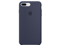 Чехол для iPhone Apple iPhone 7 Plus / 8 Plus Silicone Midnight Blue (MQGY2ZM/A)