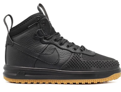 Nike lunar force 1 duck boot Черные (41-45) Арт. 041MF-A