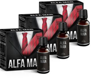 Alfa Man biologically active food supplement (3 pieces).