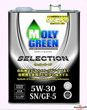MOLY Green Selection 5W30 4л