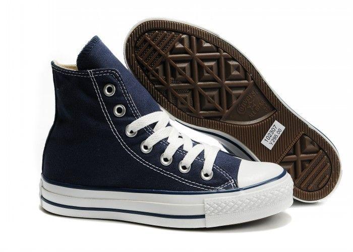 1158707dcddf converse chuck taylor all star hi navy 04 · Кеды Converse высокие тёмно- синие