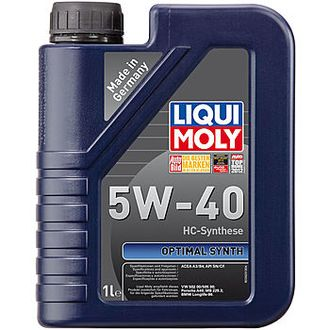 Масло моторное LIQUI MOLY Optimal Synth 5W-40 1л 3925
