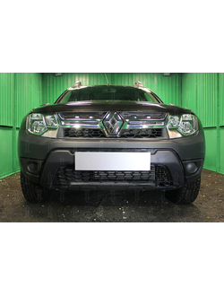 Защита радиатора Optimal Renault Duster 2015-нв. Код: Z047