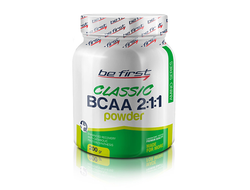 (Be First) BCAA 2:1:1 Classic Powder - (200 гр) - (малина)