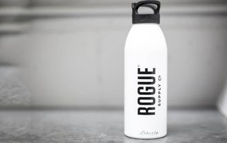 ROGUE ALUMINUM WATER BOTTLE 32 oz (цвет- белый).