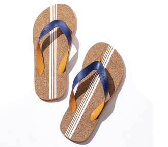 Сланцы Xiaomi U'REVO cork bottom flip flops черные размер 45