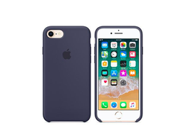 Клип-кейс Apple Silicone Case для iPhone 7/8 (синий )