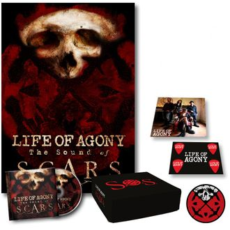 Life Of Agony - The sound of scars BOX SET
