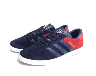 Adidas Hamburg Blue/Red сине-красные