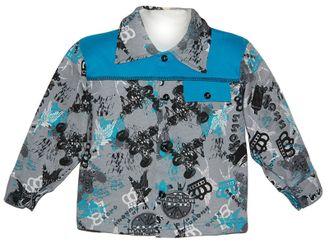 Рубашка (Артикул 4109-033) цвет лазурный