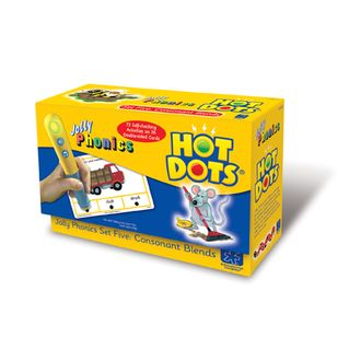Hot Dots Jolly Phonics Consonant Blends Practice Cards