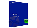 Microsoft Visio 2016 Стандарт 32-bit/x64 Russian Only EM DVD BOX D86-05540