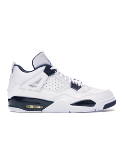 Nike Air Jordan 4 Retro Columbiat Белые Мужские