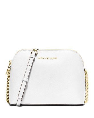 Сумка Michael Kors Cindy Large Dome Crossbody (Белая)
