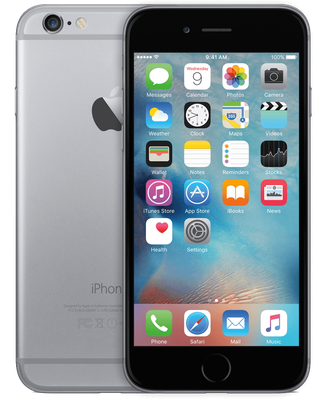 iPhone 6s space grey 16 gb (Черный)
