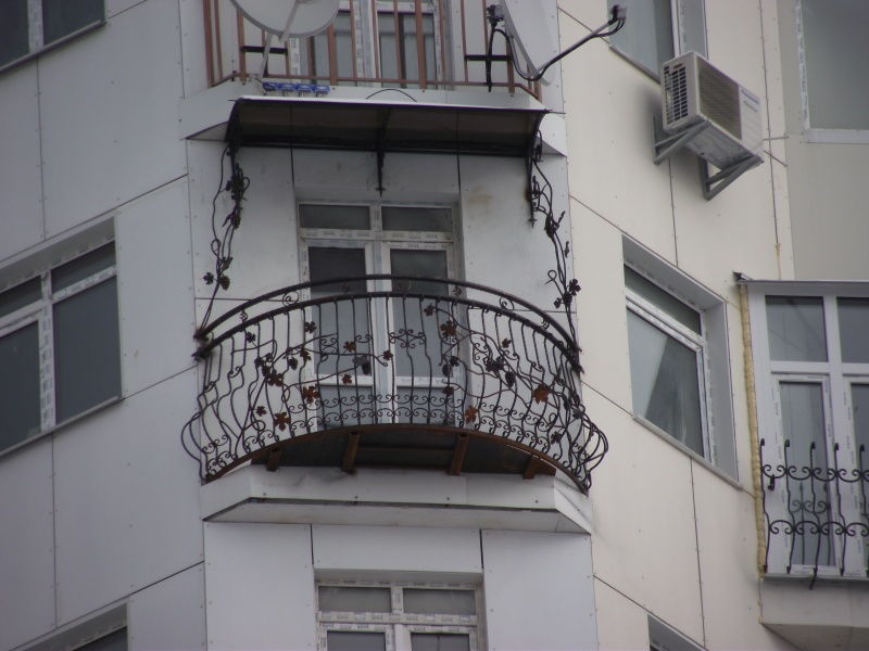 Фотогалерея - балконы.