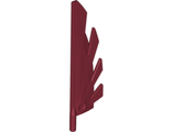 Wing 9L with Stylized Feathers, Dark Red (11091 / 6051503)