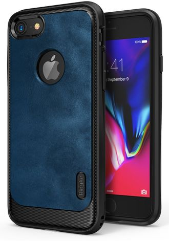 Чехол на Apple iPhone 7, Ringke серия Flex S, цвет синий (Deep Blue)