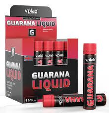 Энергетик vplab. Guarana Liquid 1500 - 20 ампул