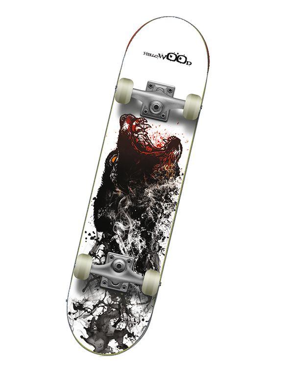 Профессиональный скейтборд Hello Wood BEAR