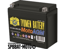 Аккумулятор TYUMEN BATTERY 6MTС-20 AGM