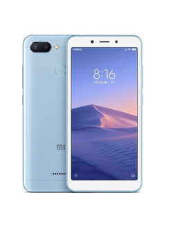 Redmi 6 64 gb голубой