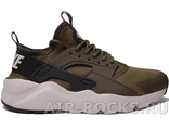NIKE AIR HUARACHE ULTRA GS  Khaki (Euro 37-39,41) HR-109