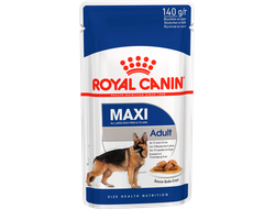 Royal Canin Роял Канин Maxi Adult Макси Эдалт для собак крупных размеров с 15 месяцев пауч (выберите объем)