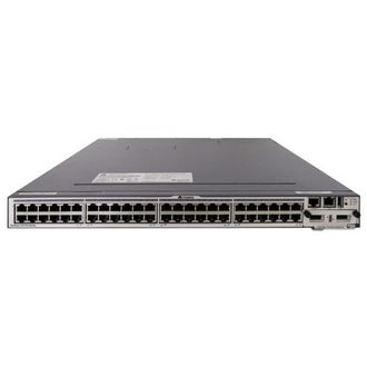 Коммутатор Huawei S5700-52C-SI Mainframe(48 GE RJ45,Dual Slots of power,Single Slot of Flexible Card,Without Flexible Card and Power Module)