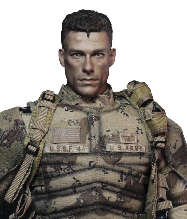 Универсальный солдат Luc D?verbaux - Damtoys x Blitzway 1/6 UNIVERSAL  SOLDIER (DMS002)