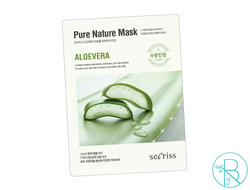 Маска тканевая Anskin Secriss Pure Nature Mask Aloevera с экстрактом алоэ вера
