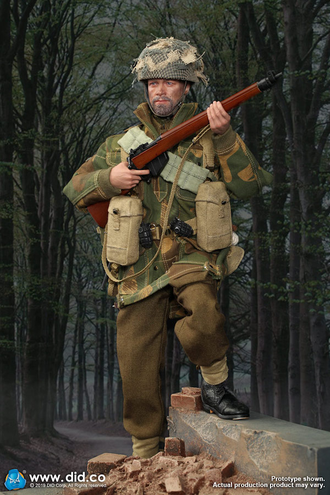 "Британский десантник - Сержант ""Чарли"" - WWII British 1st Airborne Division Red Devils Sergeant Charlie (K80136 A) - DiD"